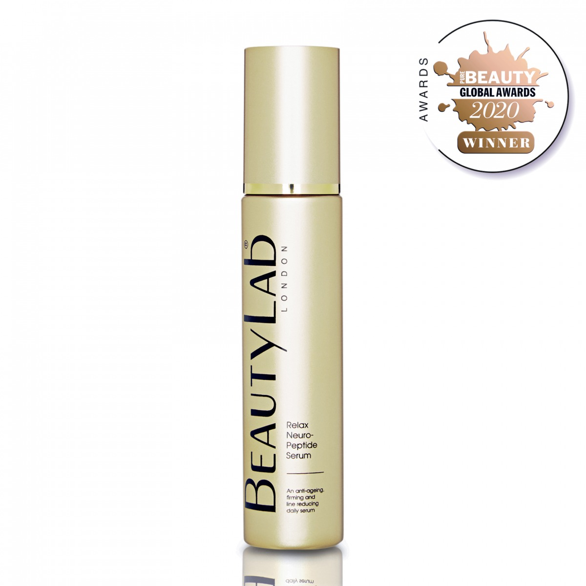 Anti-age Relax neuropeptide serum 2020 winner pure beauty awards