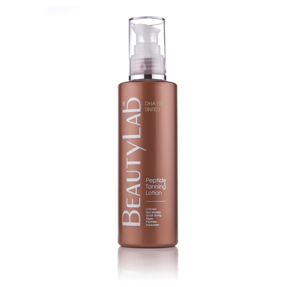 Peptide Tanning Skin Tanning Lotion DHA-FREE tinted