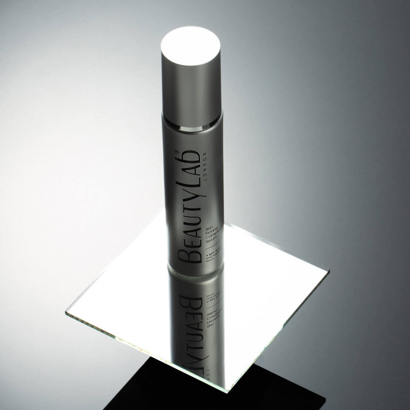 Skin Firming Complexion serum on stand