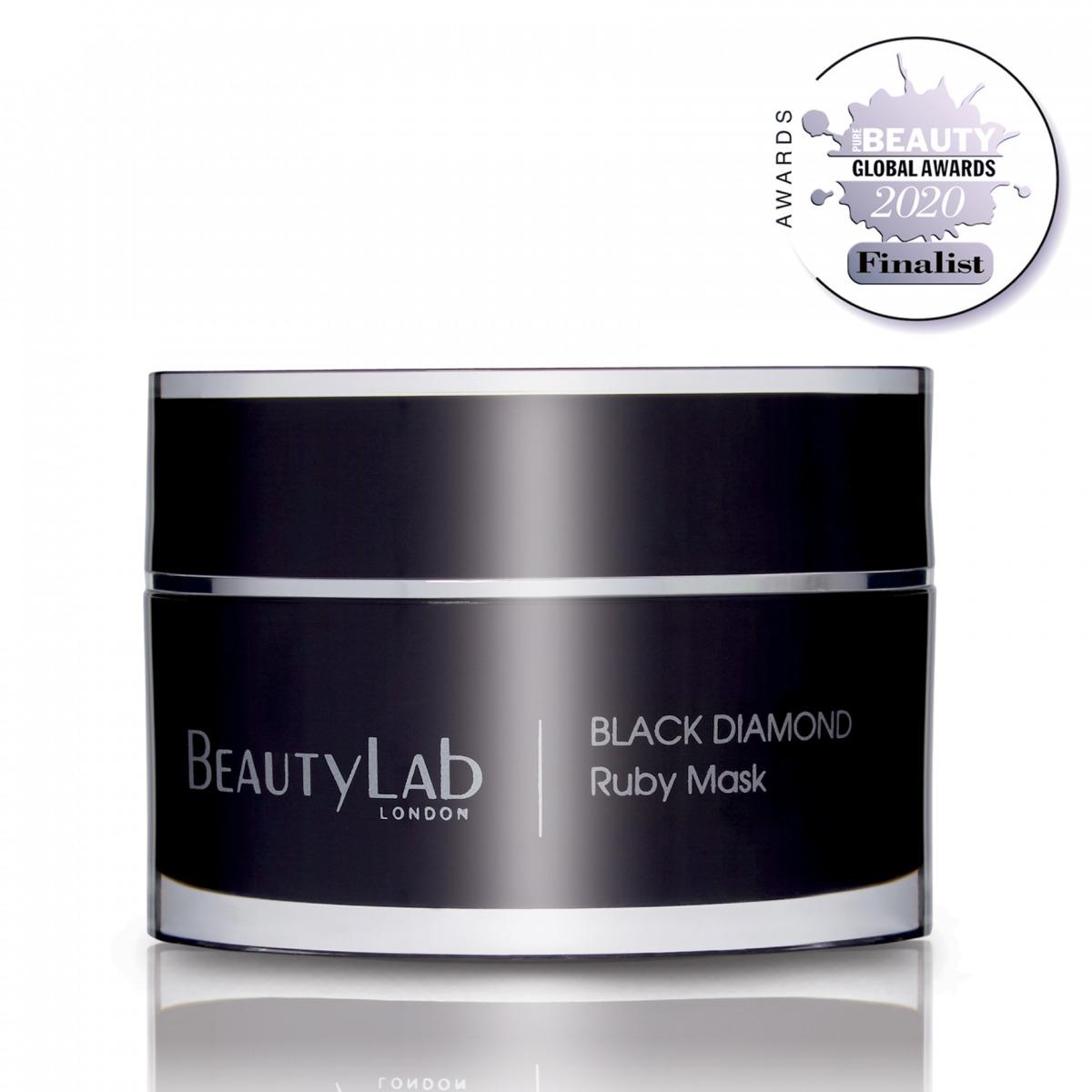 Black Diamond Ruby Mask Pure Beauty Finalist 2020