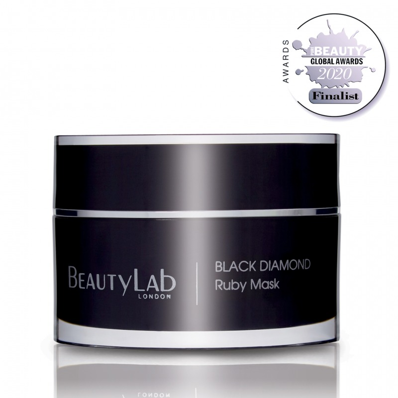 Black Diamond Ruby Mask Pure Beauty Finalist 2020