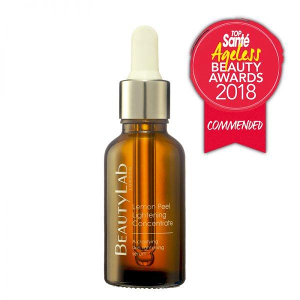 Lemon Peel Lightening Concentrate Top Santé Beauty Awards