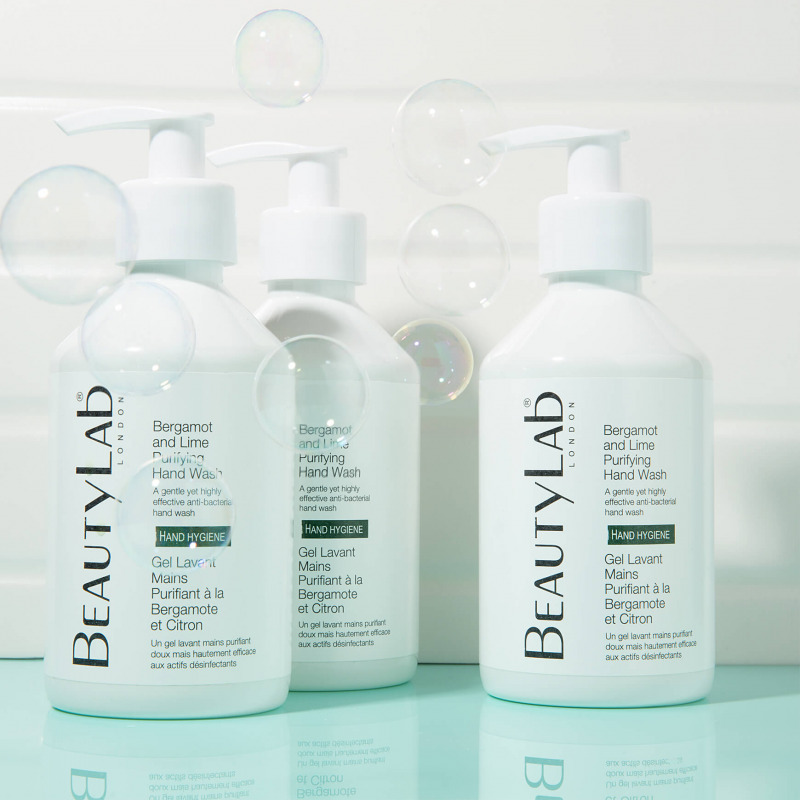 Bergamot and lime Purifying Hand Wash Bubbles
