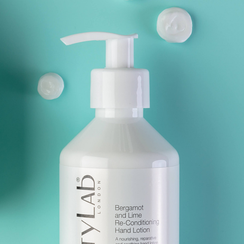 Bergamot and lime re-conditioning Hand Lotion cream